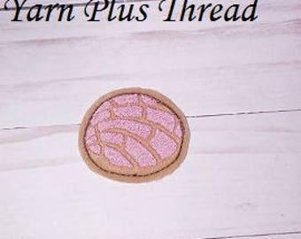 Sweet Bread Feltie Embroidery Design