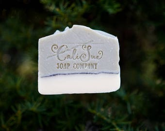 All Natural Hand Crafted Soap/ Mountain Man Bar w/ Cedar wood and Lime