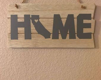Home sign w/ your state