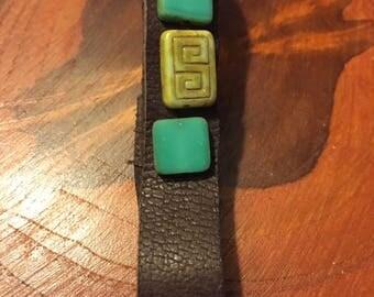 Celtic Beaded Bracelet
