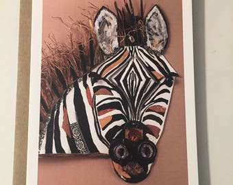 Zebra Note Card Set