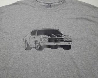 1970 chevelle adult brand new tshirt sm-5xl