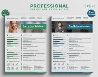 How To Send A Resume Pdf Resume Template  Etsy Soft Skills On Resume Word with Bartending Resume Template Pdf  No Resume Word