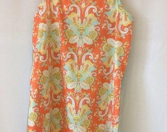 Summer dress girl cotton and linen