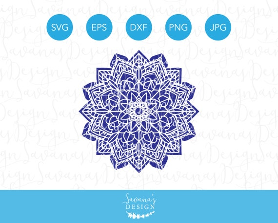 Flower Mandala SVG Mandala SVG File Mandala SVG Files for
