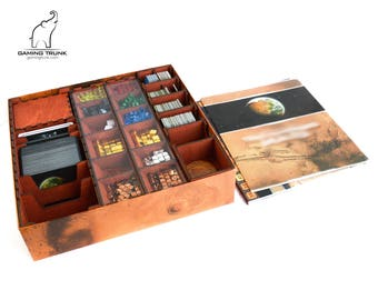 Organizer for Terraforming Mars™, Terraforming Mars™ insert, Board Game Organizer, Board Game Insert, Wooden organizer