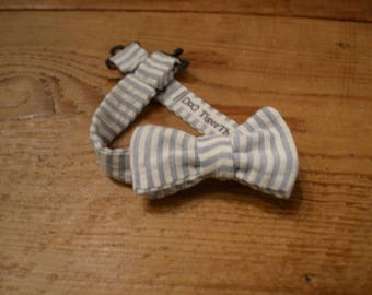 Baby Bow Ties | Seersucker, Floral, Anchors, Handmade READY TO SHIP, Pre-Tie or Self-Tie | Newborn to 4