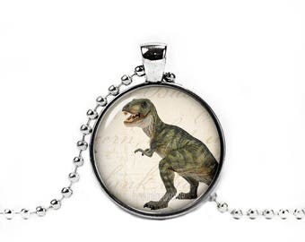 T Rex Pendant T Rex Necklace Dinosaur Necklace Dinosaur Chain Jurassic animal