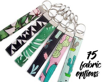 Cactus Keychain - Cactus Key Chain - Cactus Gifts - Key Fob - Key Lanyard - Keyfob Gift - Keyring Gift - Coworker Gift - Succulent Gifts