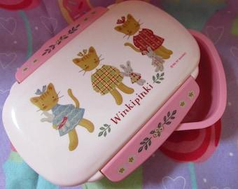 Vintage 1997 Sanrio WinkiPinki Bento Box