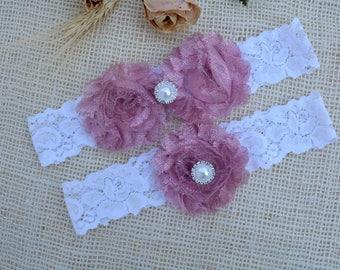 Garter Nude Pink, White Glitter Garter, Nude Bridal Set, White Garter, Garter Set Pink, Garter Set Glitter, Keep Garter Pink, Bridal Garter