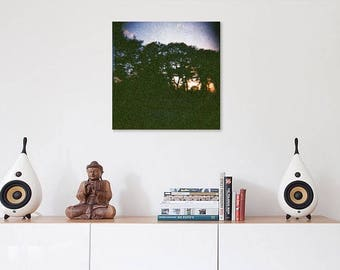 Light, lomography photograph print