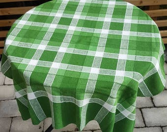 Table Cloth Square Labeled Finlayson Finnish Design High quality Scandinavian Modern
