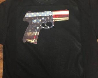 American Pistol Shirt Second Amendment Shirt