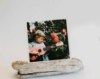 No. 1 Beachwood Photograph Print Hold - driftwood picture holder -Home decor - Portrait Print Holder- pnw - pacific north west - ocean