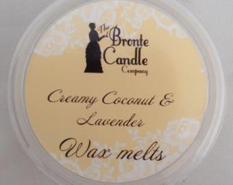 Creamy Coconut & Lavender Wax Melt Pot