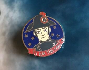 I AM THE LAW Javert hard enamel pin | Les Misérables pins