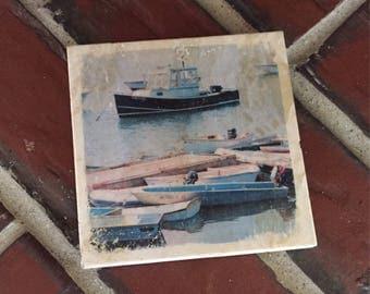 Dockside Tile Coaster