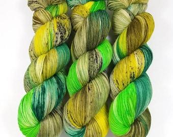 Chameleon- 100% Merino extra fine superwash hand dyed yarn, supersoft