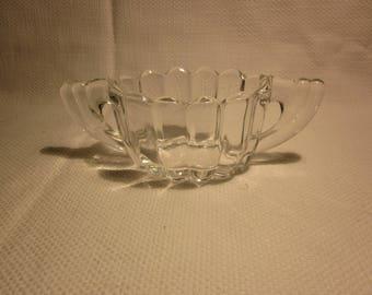 Vintage Heisey sugar bowl
