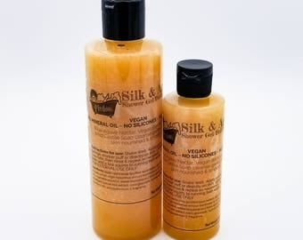 Vegan Silk and Agave Natural Body Wash Shower Gel