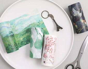 10cm Wide Washi Tape Set 5 - Planner, Journal, Craft, Scrapbooking, Decoration