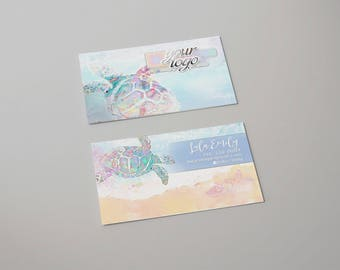 Sea Turtle - Beach Business Card