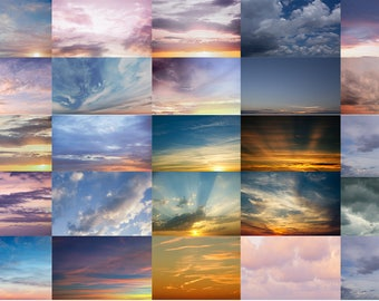 Moody sky overlays