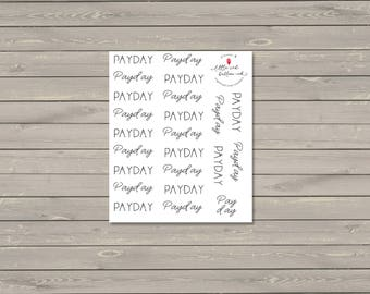 Payday Script Stickers