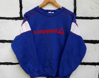 Vintage Le Coq Sportif Sweatshirt Nice Design