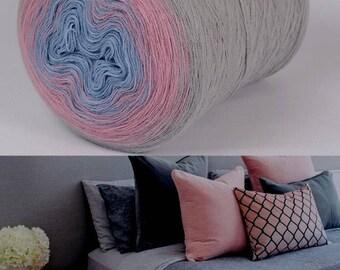 Muffin Acrylic yarn roll - 430gram roll - 3700m per roll - Shade number 113