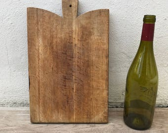 ANTIQUE VINTAGE FRENCH bread or chopping cutting board wood 10021813