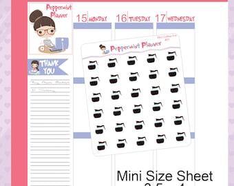 Mini Size Sheet --- Coffee Pots -- Sheet Size 3.5 x 4 #01