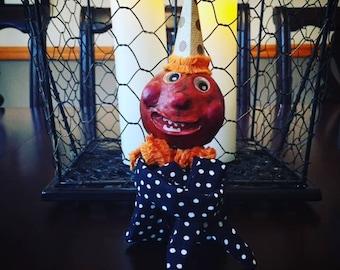 Halloween Pumpkin Head Doll