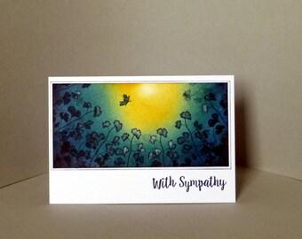 Sympathy card, bereavement card