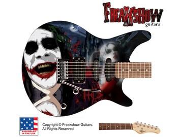 JOKER Electric Guitar - Free US Shipping - Batman