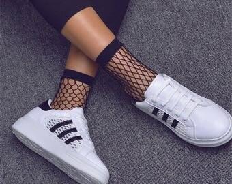 Fishnet socks