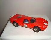 Vintage 1970s Scalextric Model C15 Red Ford Mirage Slot Car/ Tested and Working