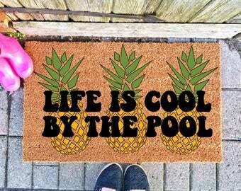 Pineapple Rug Etsy