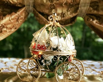 Set of 18 Fairytale Cinderella Carriage Centerpieces