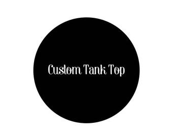 Custom Kids & Adult Tank Top