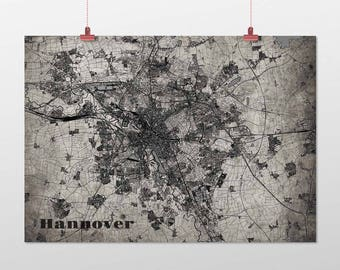 Hanover - A4 / A3 - print - OldSchool