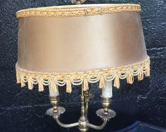 Antique/Vintage Brass Table Lamp