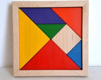 Colorful TanGram - Mastro toys