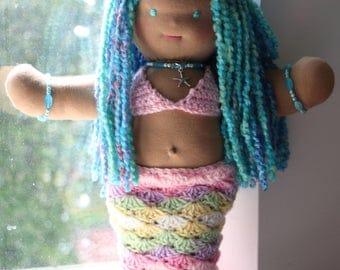 Waldorf-style Mermaid Dolly (Delfina)
