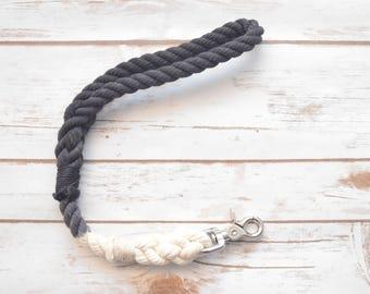 Traffic Dog Leash/Lead: All Natural Cotton Rope Traffic Leash