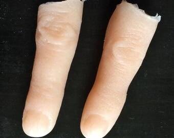 Severed female fingers
