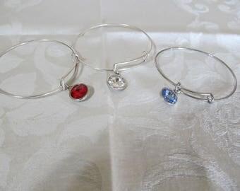 Swarovski bangle bracelets