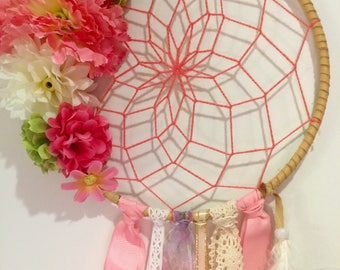 Dream catcher spring pink