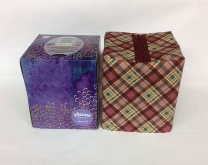 Tissue Box Cover for standard upright tissue box,